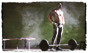 barbell workout to build muscle and burn fat
