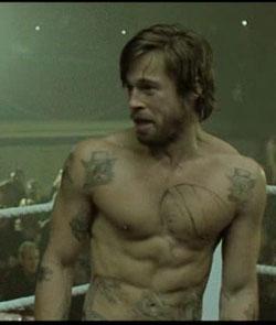 Celebrity Workouts Brad Fight Club