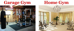 garage gym or home gym