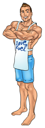Dave The Muscle Cook Ruel