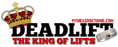 deadlift king of exercises