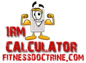 How to calculate your 1rm