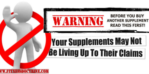 Your Supplements May Not Be Living Up To Their Claims