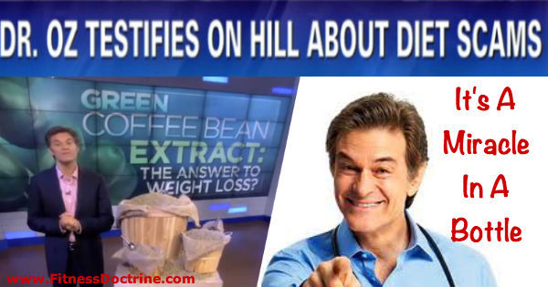 dr oz scam It's a Miracle in a Bottle