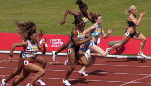 sprinters train muscles everyday
