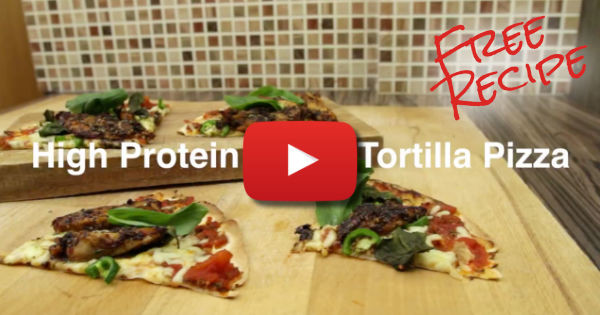 Free Healthy Diet Pizza Recipe