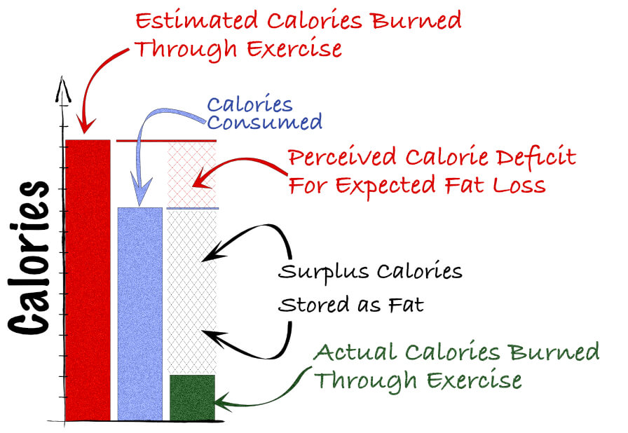 exercise and calories burned
