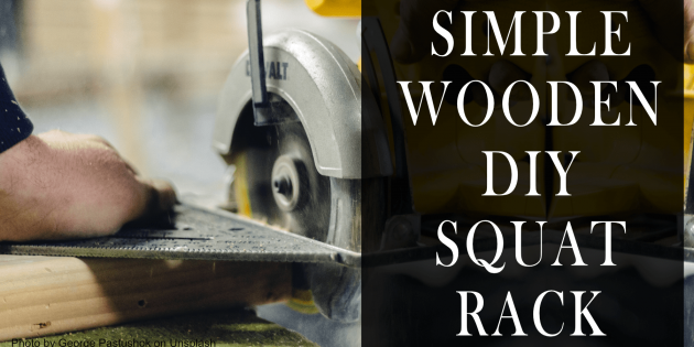 DIY Wooden Squat Rack
